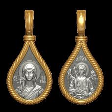 """Медальон """"Св.равноапостольная Мария Магдалина"""""""