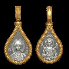 """Медальон """"Святая мученица Татиана"""""""