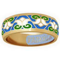 Позолоченное кольцо «Лилии»