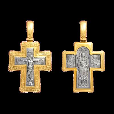 Крест Распятие. Киево-Печерская икона